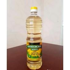 Растительное масло Богатовское золото 1л